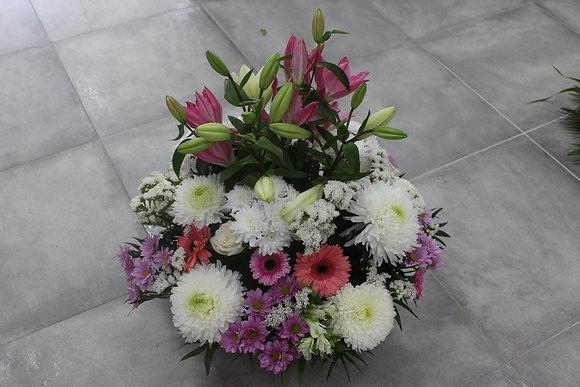 Coupe fleurs haute