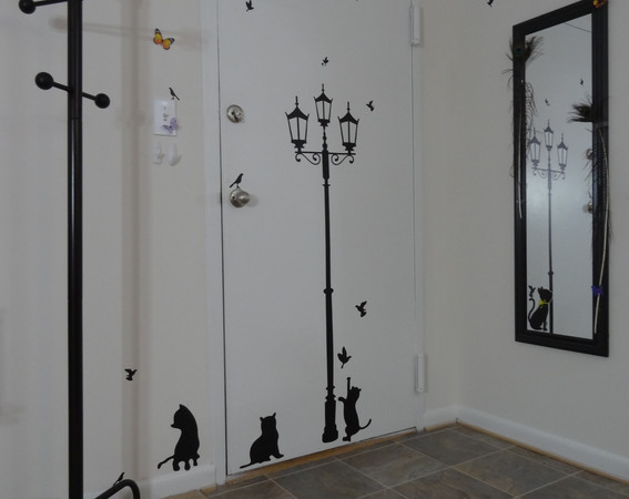 Entrance to flat