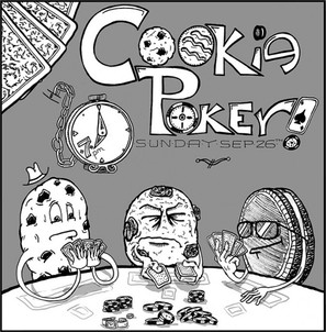 Cookie Poker Invitation