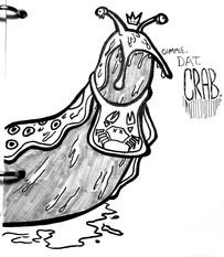 Crab-eating Slug