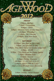 Agewood 2012 Event Info Poster