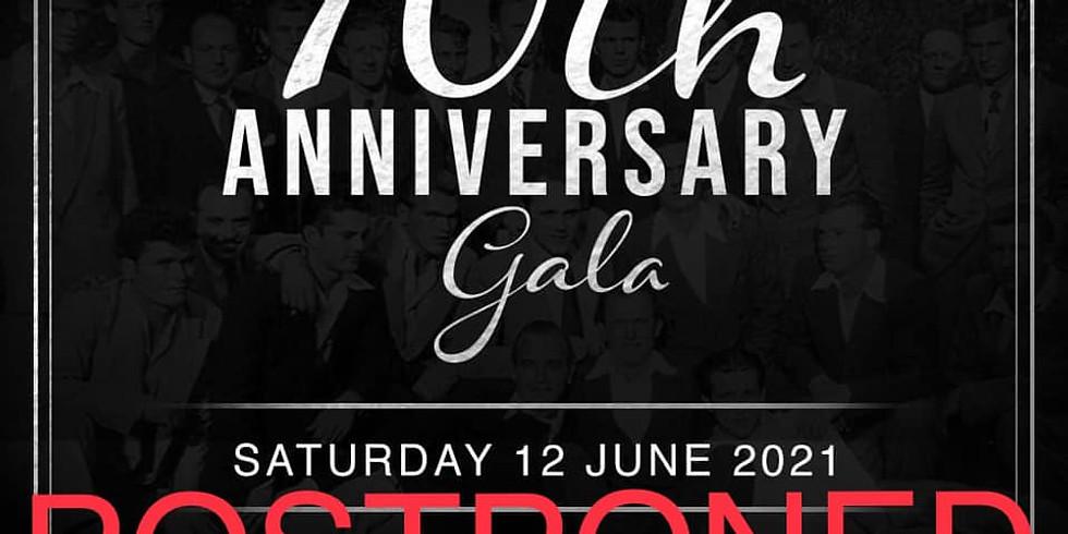 70th Anniversary Gala - Postponed
