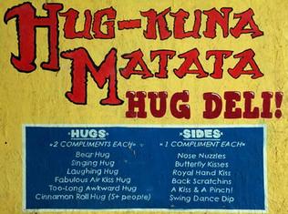Hug Deli Menu