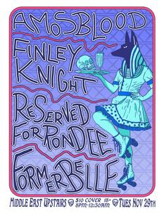 Anubis's Diner Flyer