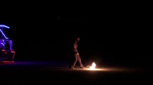 Rope Dart (monkey fist) Desert Burn