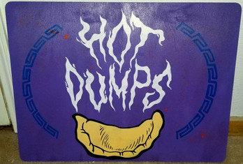 Hot Dumpling Sign