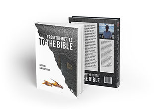 From the bottle to the Bible book mockup