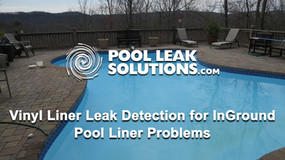 Vinyl Liner Leak Detection for InGround Pool Liner Problems