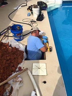 Working a Underground Plumbing Leak