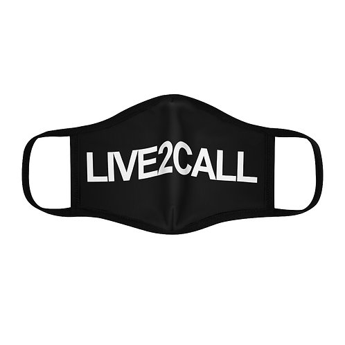 L2C Fitted Polyester Face Mask