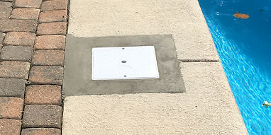 Repair Concrete Decking to Blend