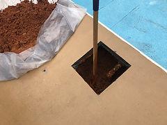 Underground Pool Plumbing Repair in Deck