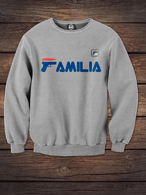 Familia Strapped Up Crewneck Sweatshirt