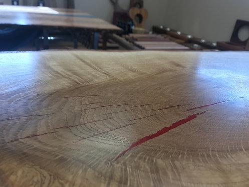 White Oak Hall Table