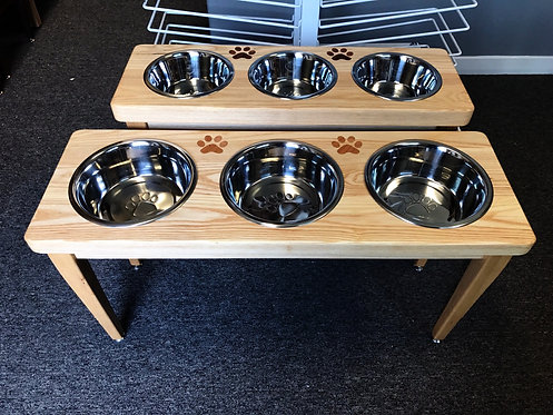 The Paw Bar - 3 Bowl