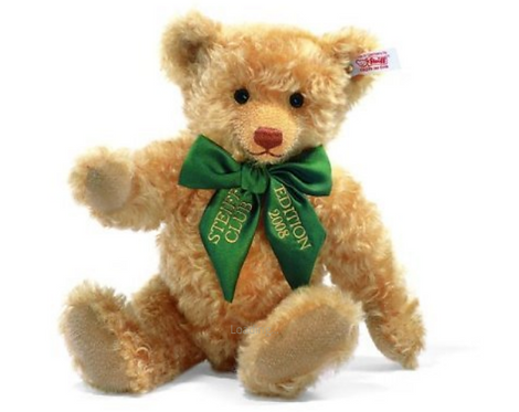 Steiff Club GOLDEN BLOND TEDDY BEAR 2008
