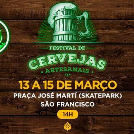 Festival de Cervejas Artesanais em Niterói