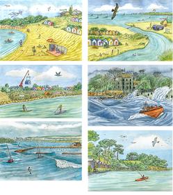 Coastal Change illustrations