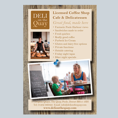 Deli on the Quay editorial advert