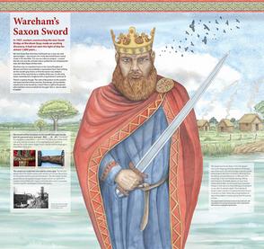 Wareham Saxon Sword Museum Exhibition