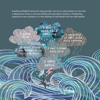 Unclouding book illustration