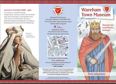 Wareham Town Museum leaflet