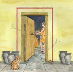 Bucknowle Roman Villa illustration