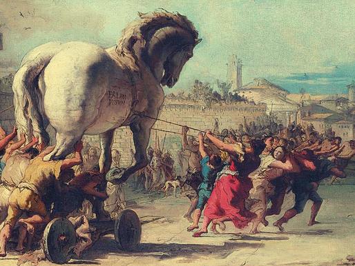 ¿Quién descubrió Troya?