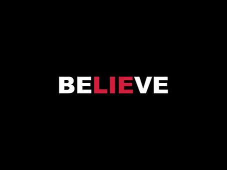 Why we believe lies