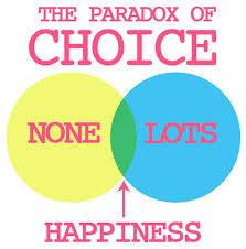 paradox of choice 2