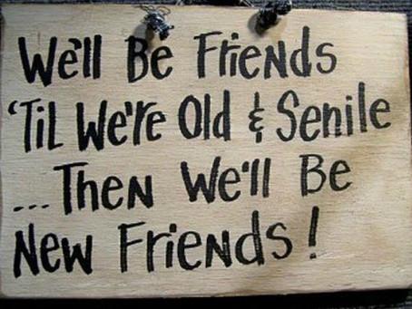 How many friends do we need?