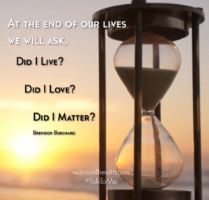 end of life matter