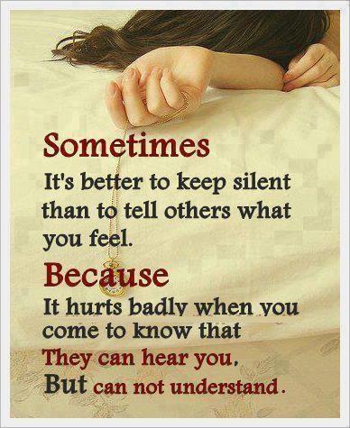 hear but dont understand