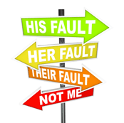 Are you a Blame-Thrower? And what to do if you are