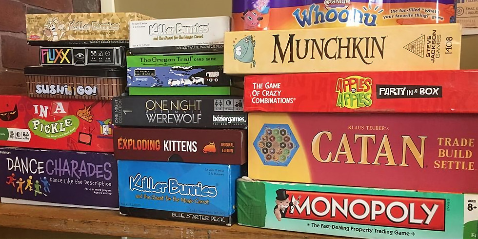 FREE EVENT - GAME NIGHT
