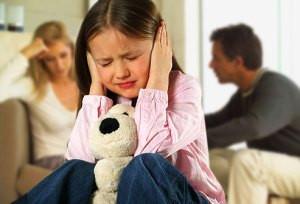 kids and parent stress