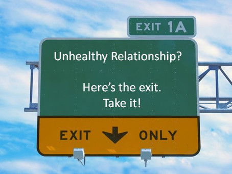 How to recognize unhealthy relationships