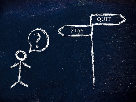 Are you a Quitter or a Failure?
