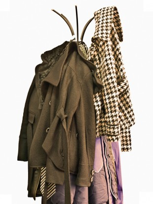 hanging coats