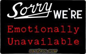 Emotionally-Unavailable