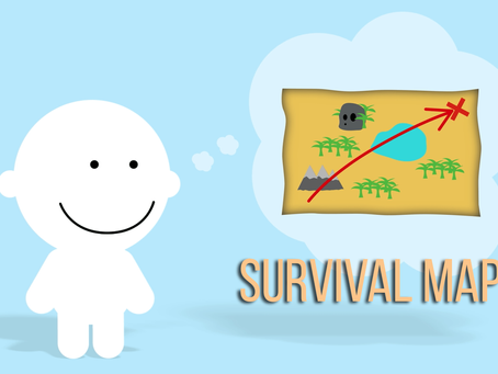 Why do we act the way we do? Survival Maps!