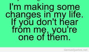 change relationships