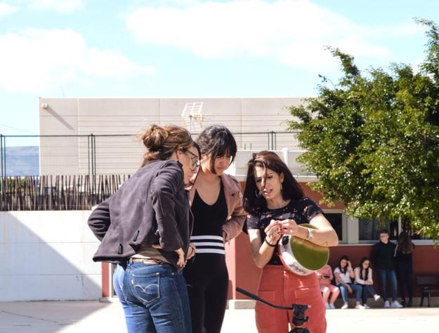 Curso Estenopeica IES Josefina de la Tor