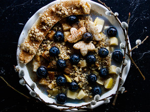 BLUEBERRY AMARANTH - HIGH PROTEIN BREAKFAST
