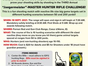 Jagermeister Master Hunter Rifle Challenge