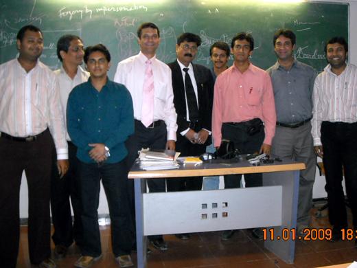 Forensic Expert V C Mishra