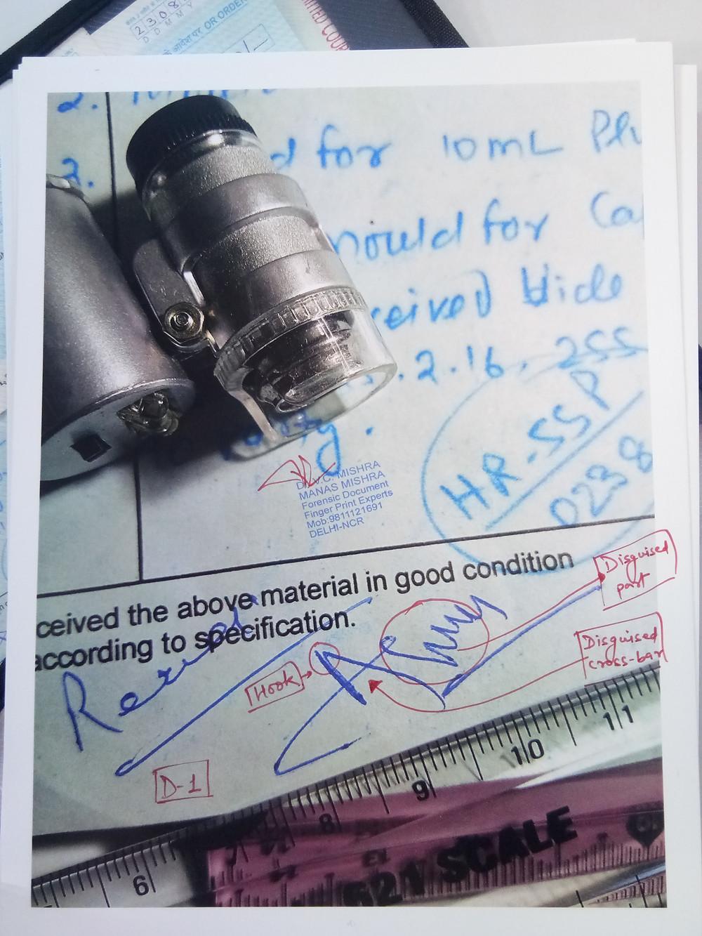 Forge Handwriting Analysis