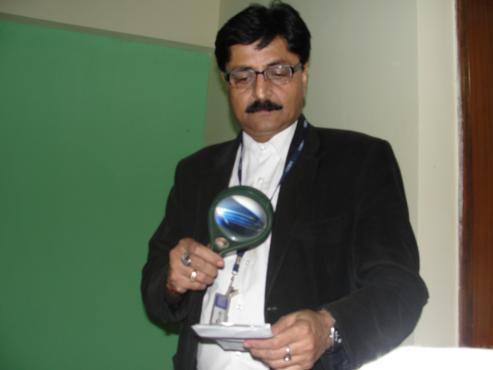 Signature Expert V C Mishra