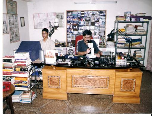 Dr. V C Mishra In his Office