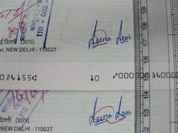 Checking Correct Signature